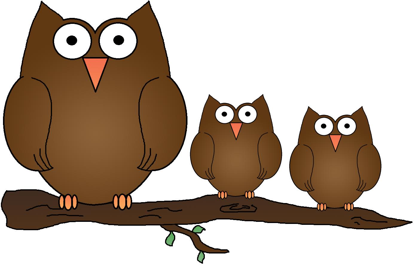 Pilgrim clipart owl. Owlet branch clip art