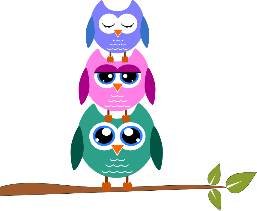 Owls clipart row. Stormdesignz page free clip