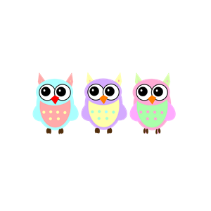 Clipart owl pastel. Baby owls cliparts of