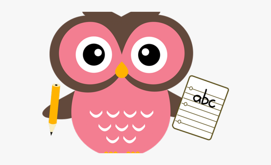 Owl clipart pencil. With png cute teacher