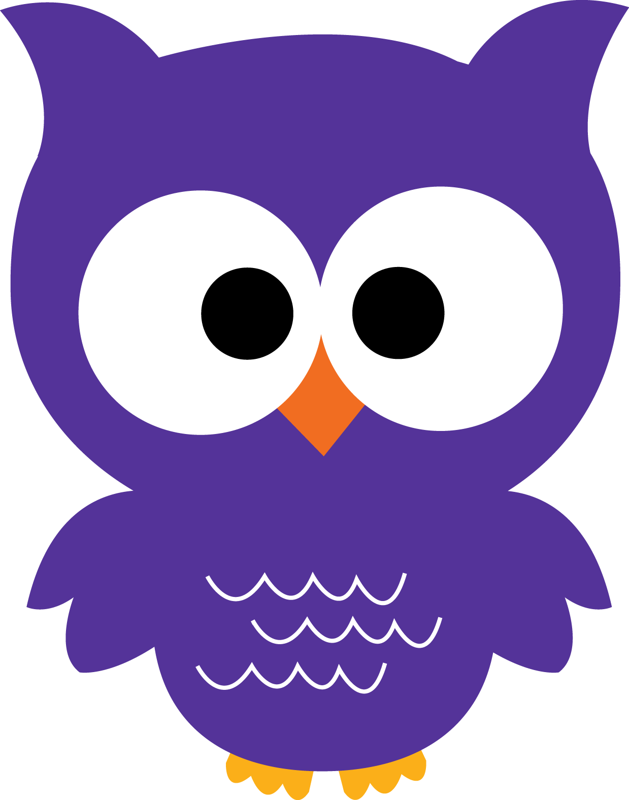 Owl purple