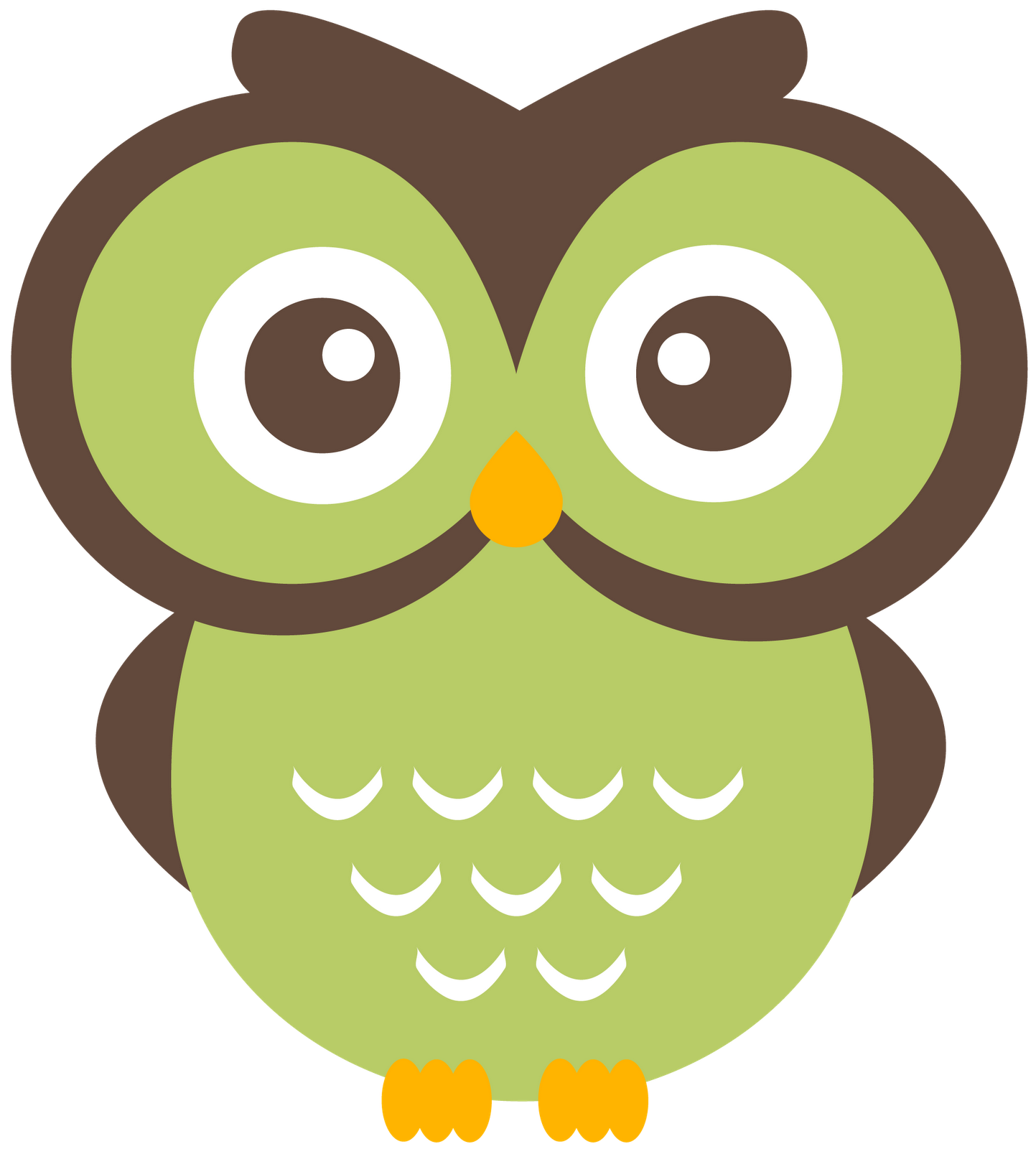 collection of cute. Clipart owl student