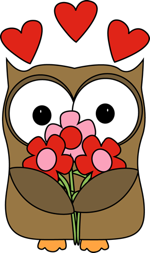 Clipart owl valentines day. Valentine s cards c
