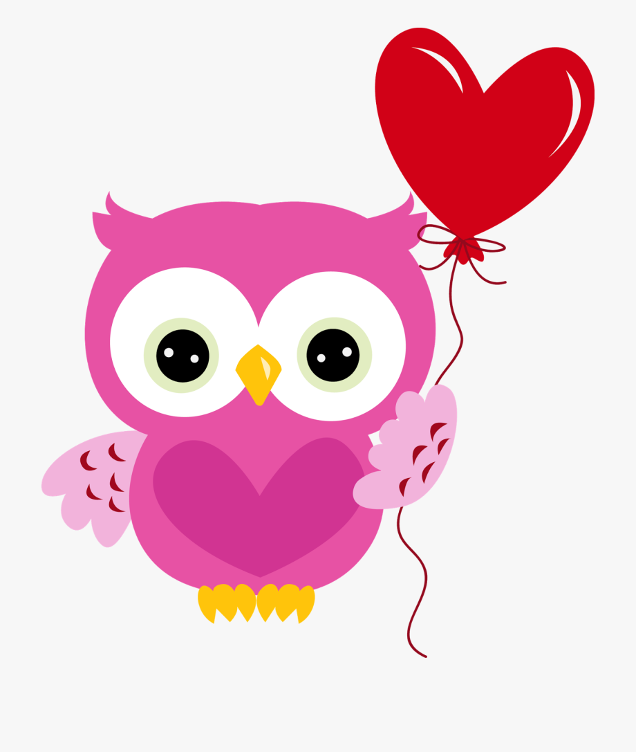 Clip art . Clipart owl valentines day