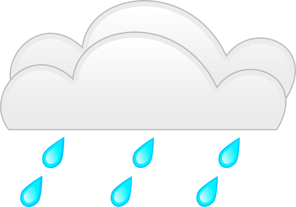 March weather free collection. Clipart rain coloring