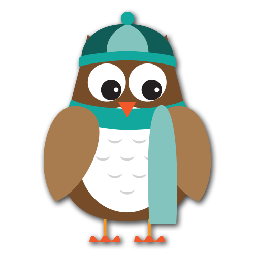 Free owl cliparts download. February clipart winter
