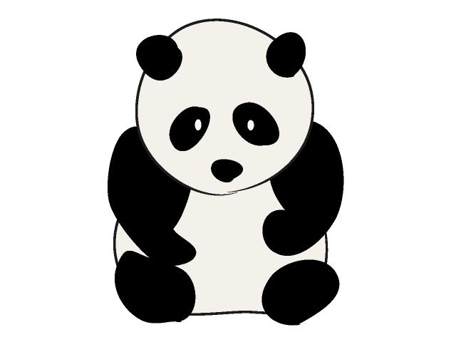 Clipart panda.  clip art animal