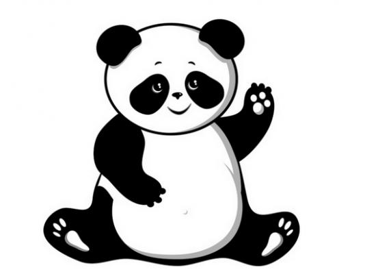 Clipart panda. Free images pandaclipart