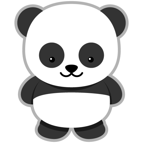 Clipart panda.  collection of free