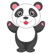 Clipart panda. Free clip art pictures