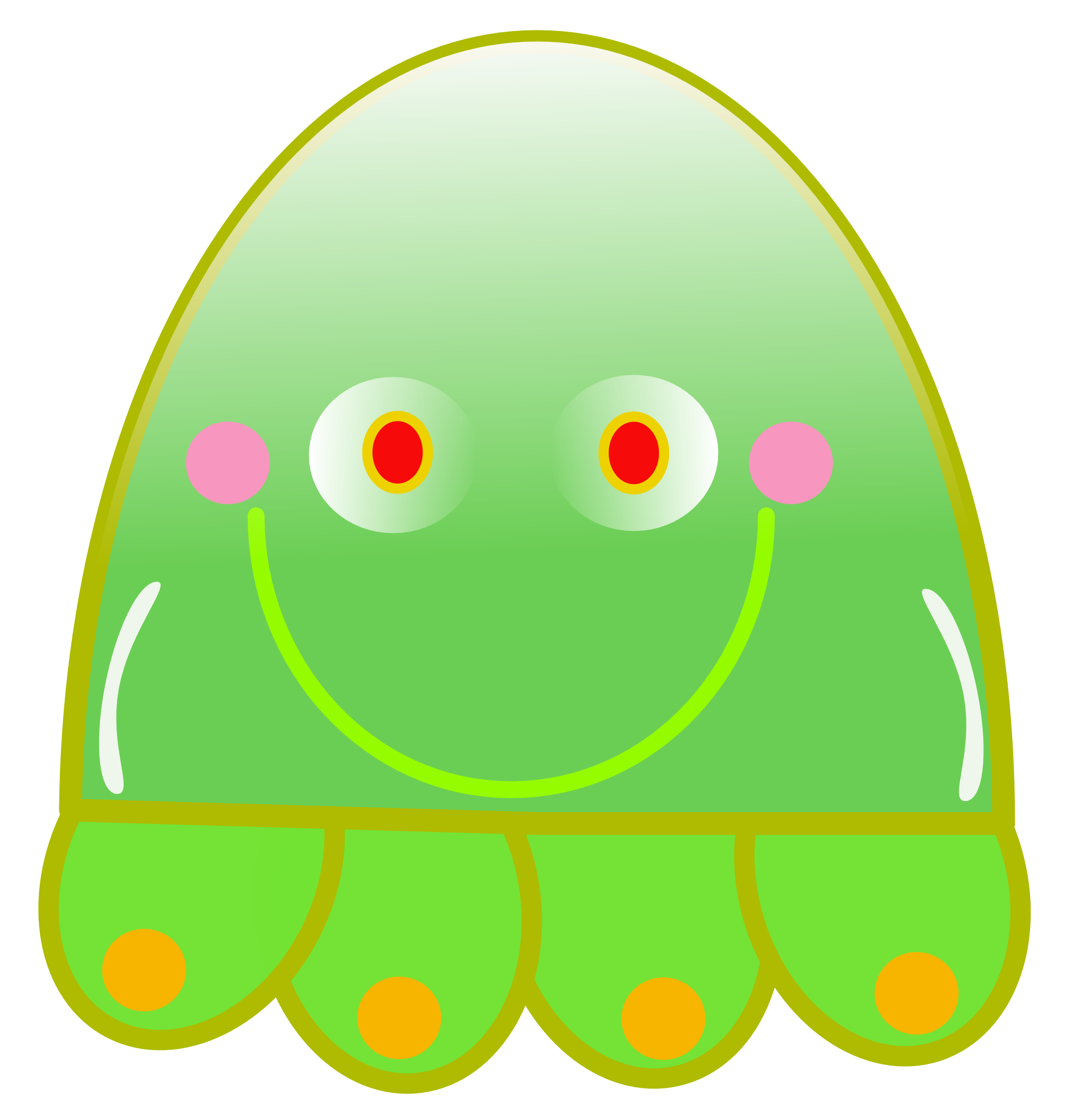 Jelly clipart large.  amazing cute jellyfish