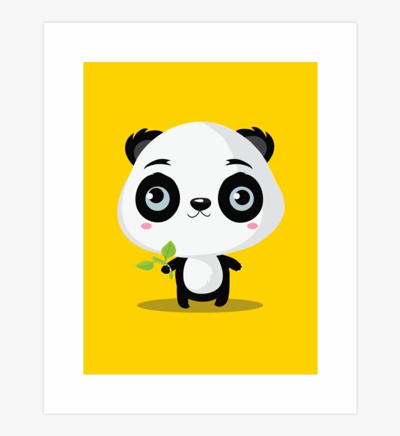 Clipart panda bamboo stick. Wall tapestry small
