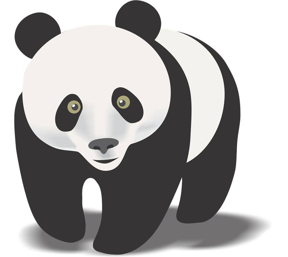 Free images pandaclipart. Clipart panda big object