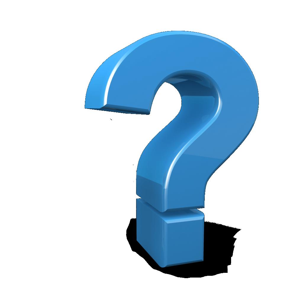 Blue mark icon panda. Free clipart question