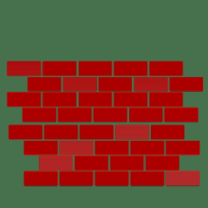 Wall free alternative design. Tower clipart brick