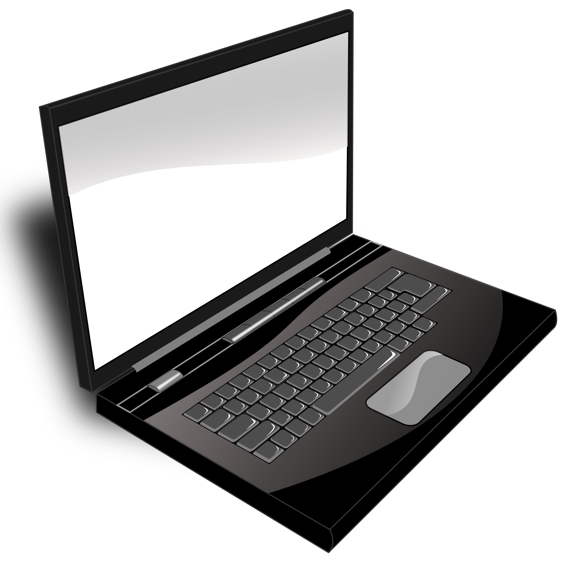 From their laptop computer. Website clipart nonliving thing
