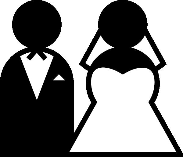Couple clipart marrige. Wedding clip art panda