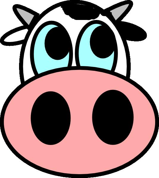 Medella logo index face. Clipart panda cow