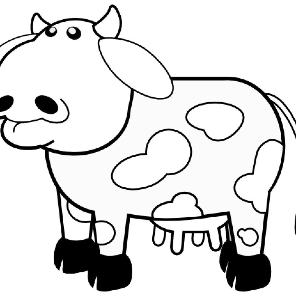 Clipart panda cow. Black and white hatenylo