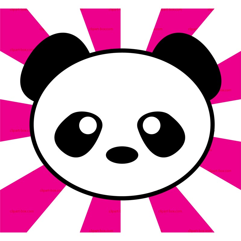 Panda clipart royalty free. Face download best