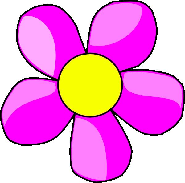 Flower clipart cartoon. Purple border clip art