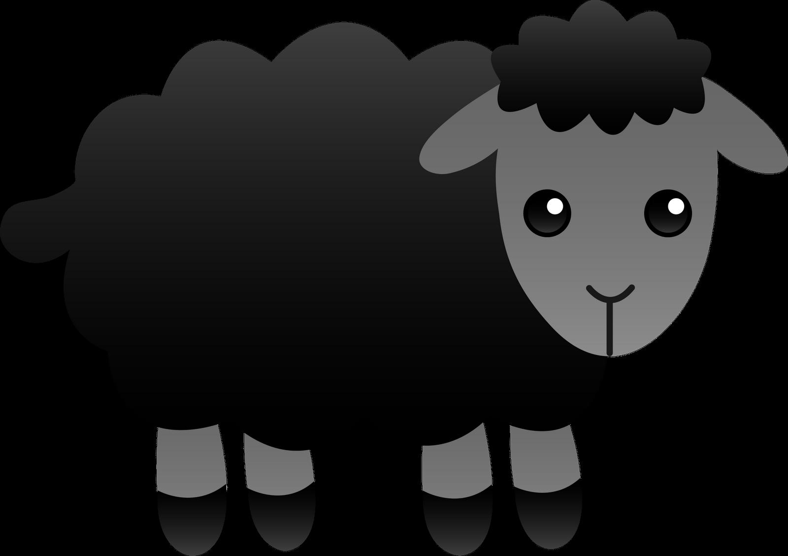 Haircut clipart sheep. Black panda free images