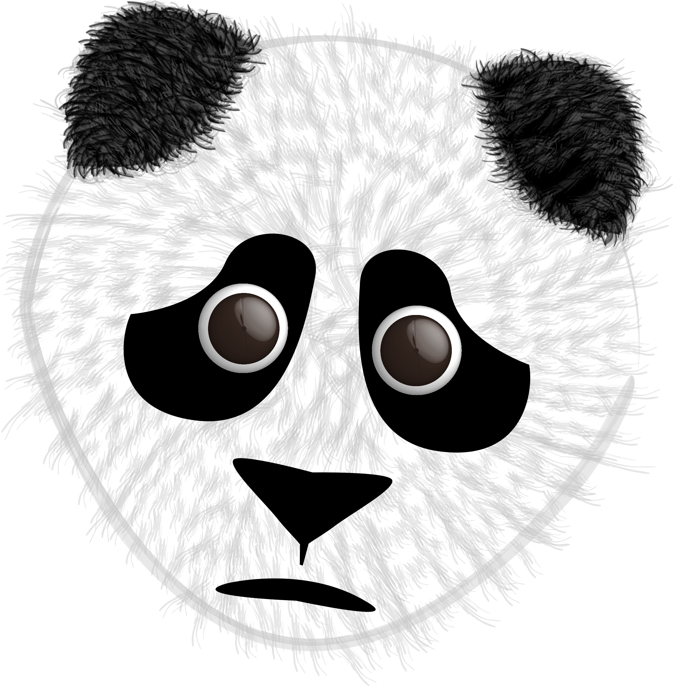 Bear big image png. Clipart panda fuzzy