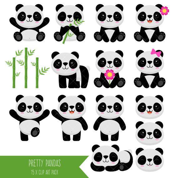 Bear clip art diy. Clipart panda girly