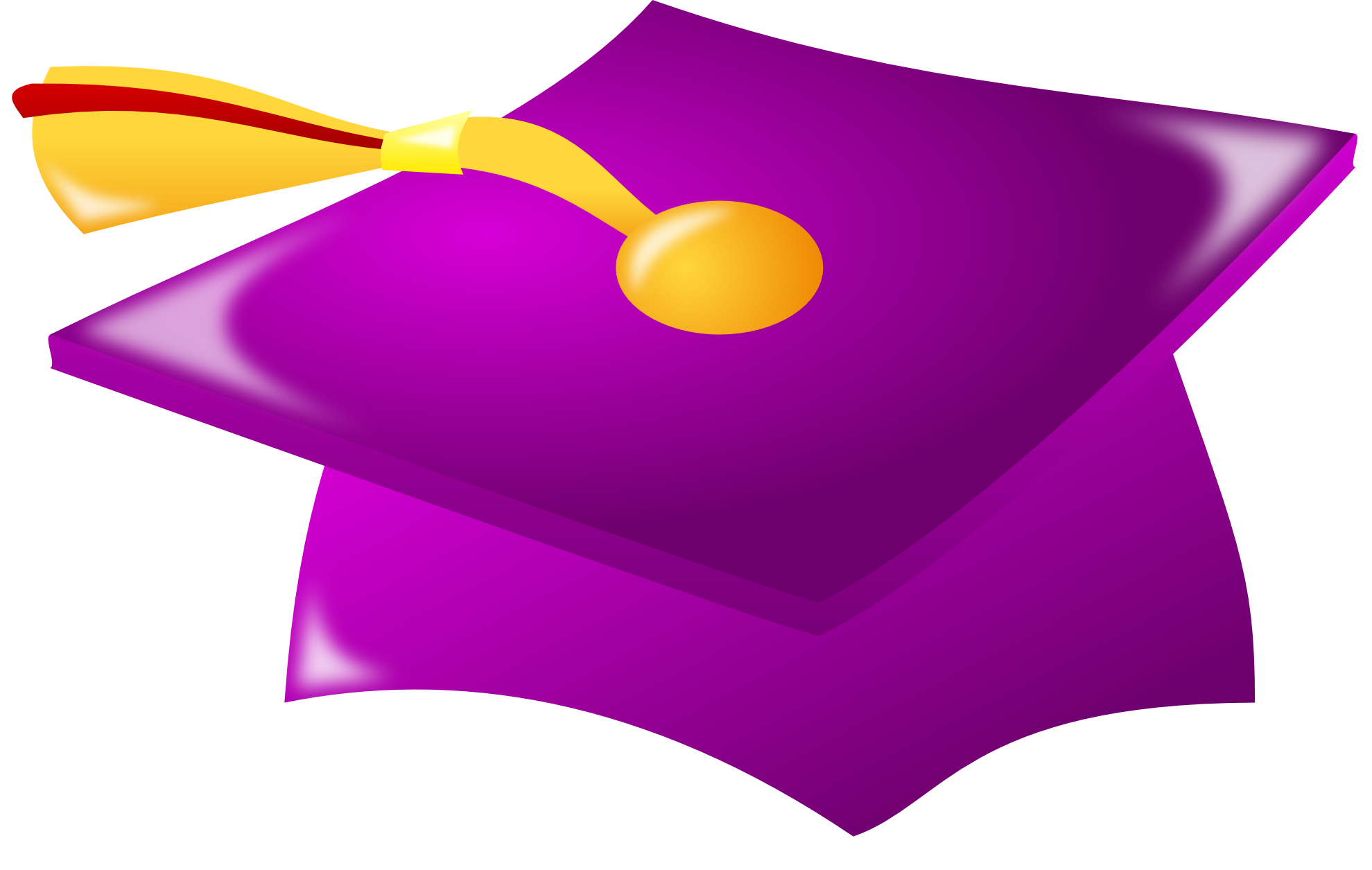 Purple clip art panda. Textbook clipart graduation cap