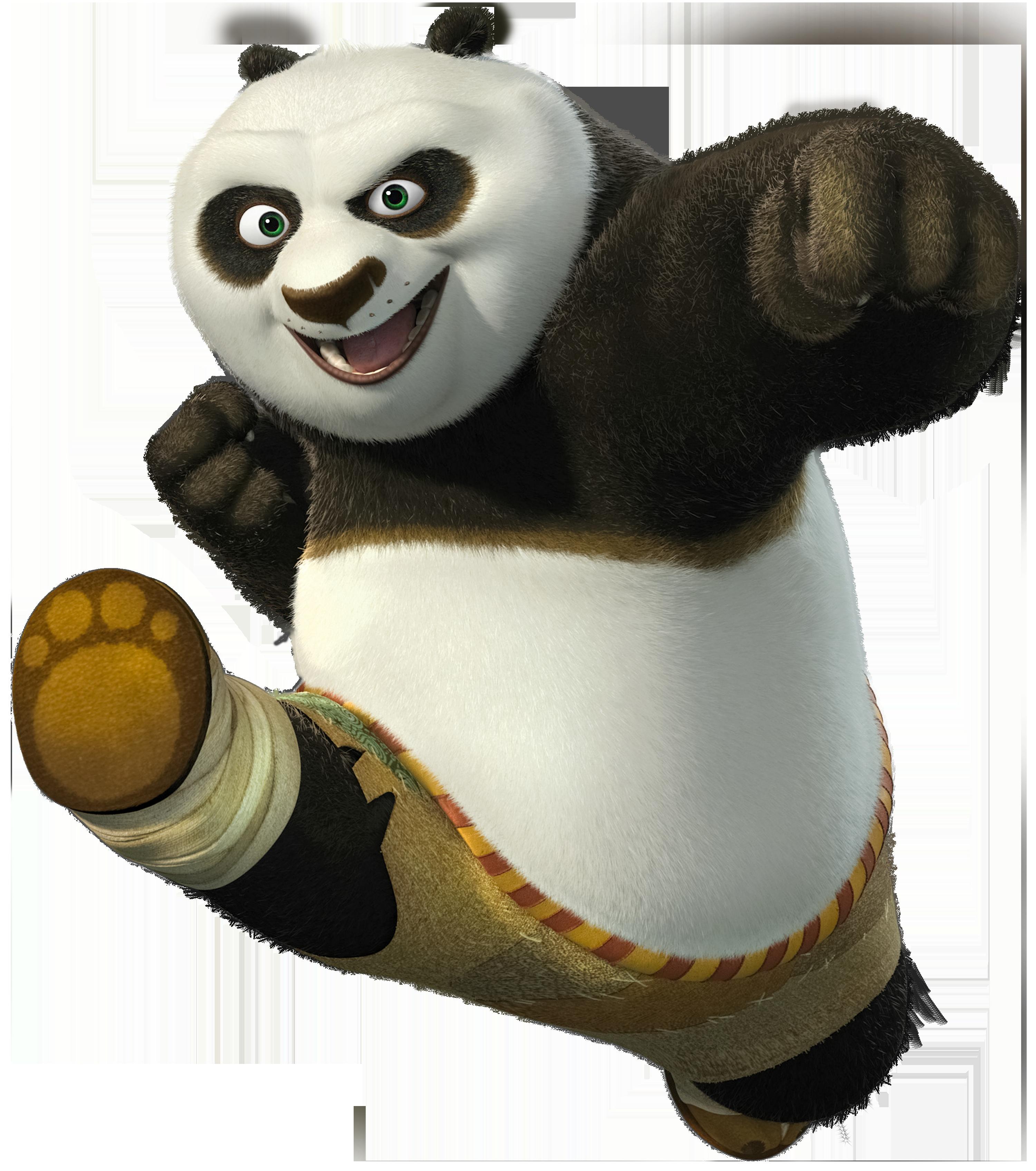 Kung fu panda transparent. Movie clipart park clipart