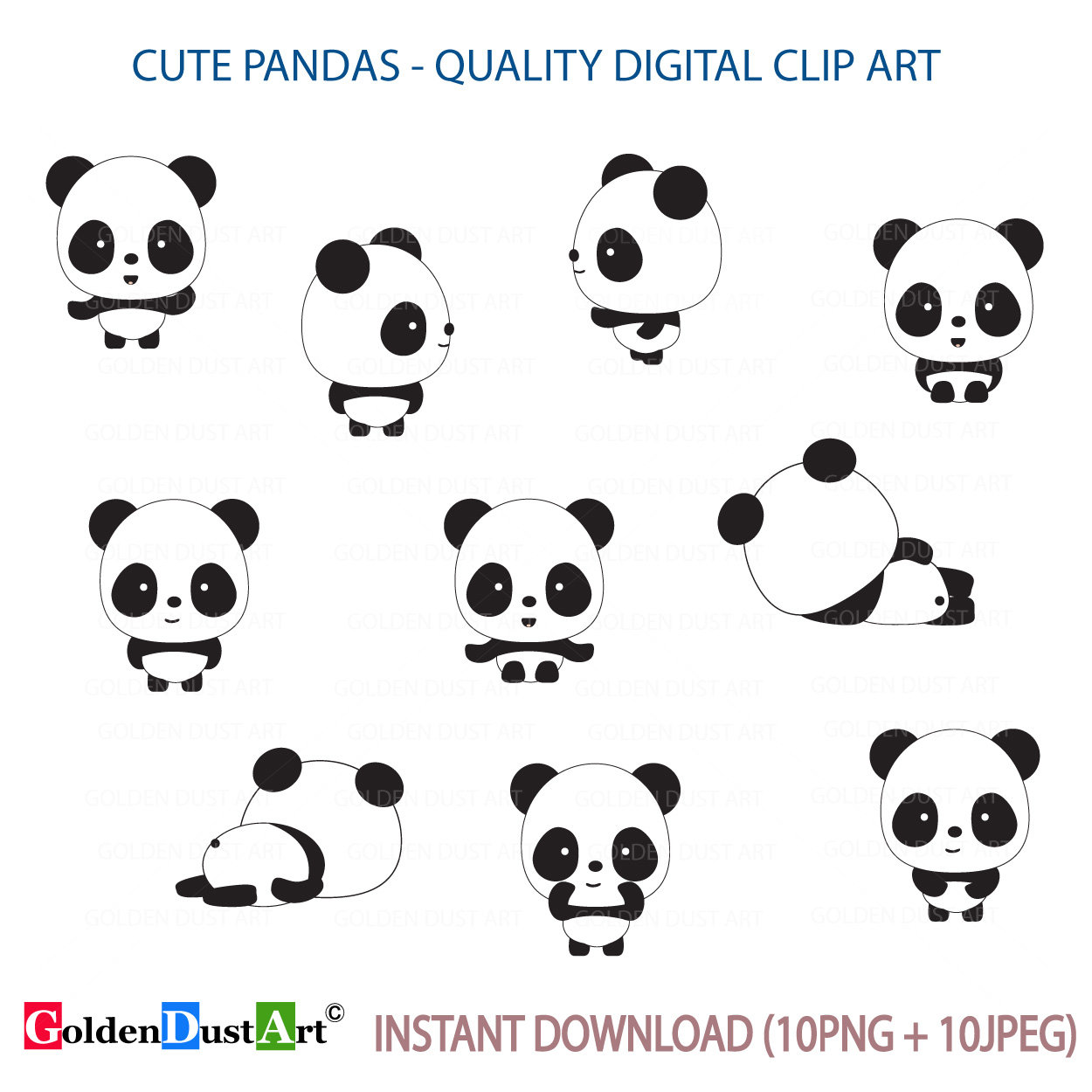 Cute clip art kawaii. Clipart panda kawii