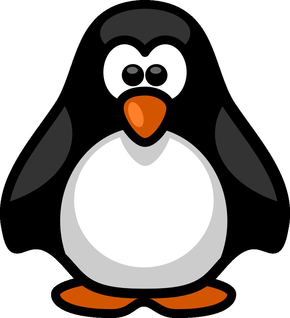 Penguin clipart profile. Clip art black and