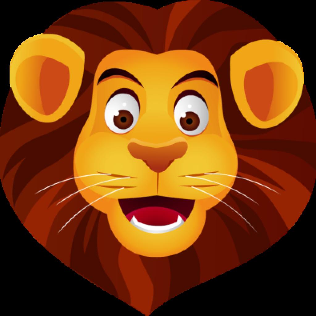 Free clip art head. Panda clipart lion