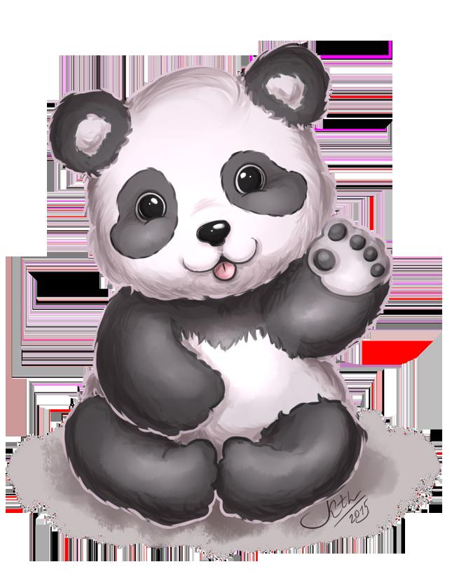 Clipart panda little panda. Cutie by ketlike on