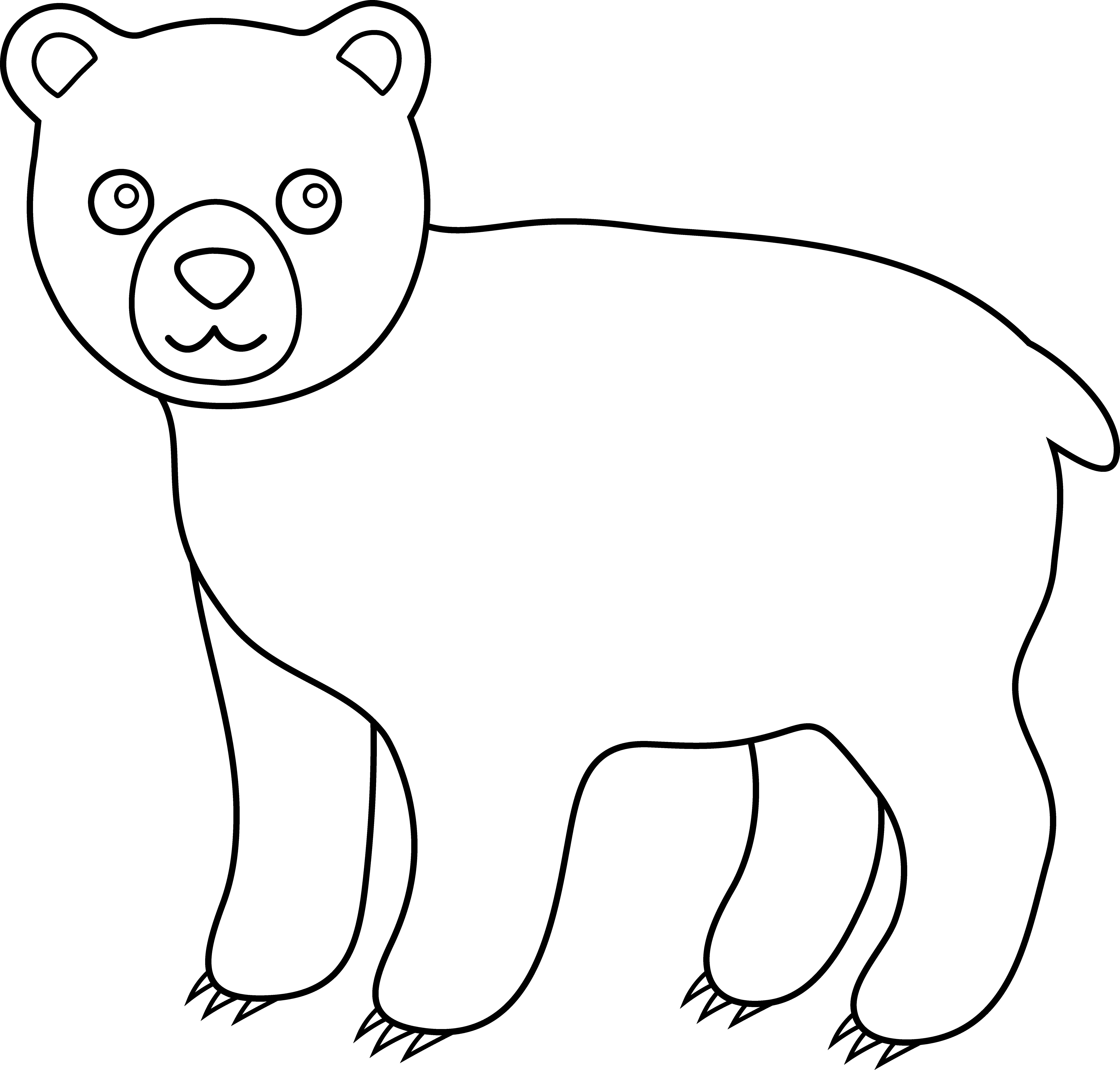 Cute black and white. Kiss clipart panda bear