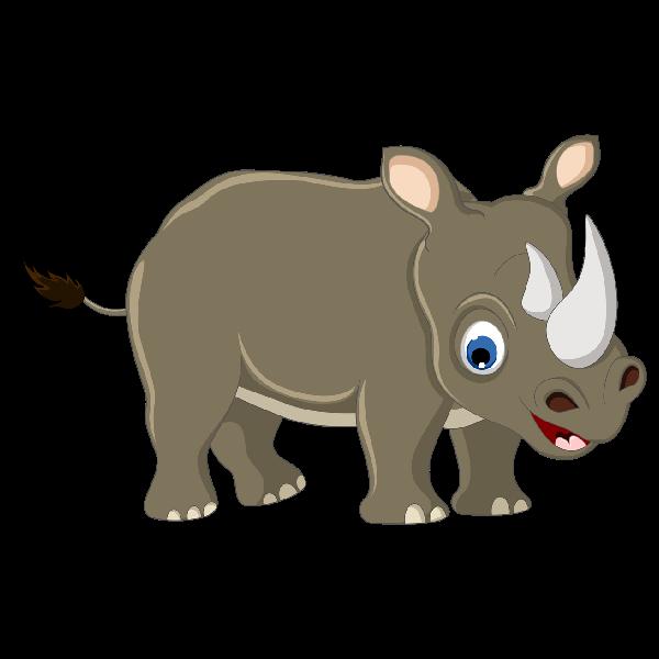 Rhinoceros panda free images. Sad clipart rhino