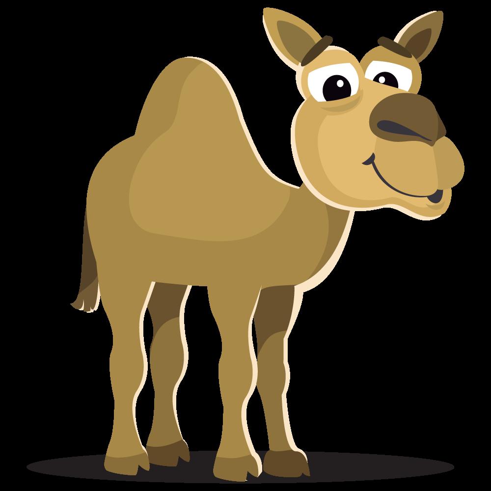 Camel large mammals clip. Florida clipart cartoon