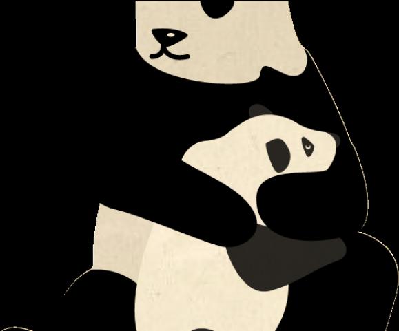 Clipart panda panda habitat. Rare illustration png download