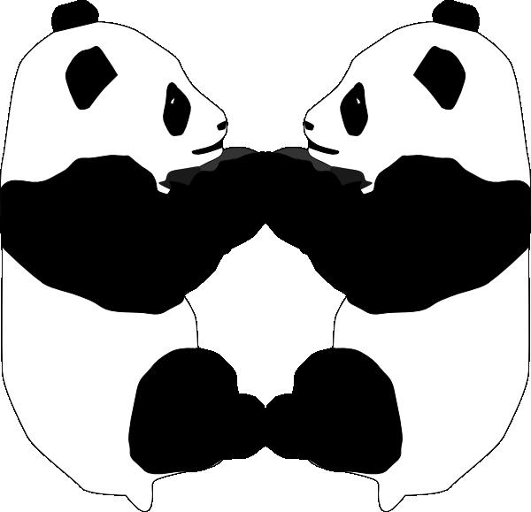 Giant bear clip art. Clipart panda panda love