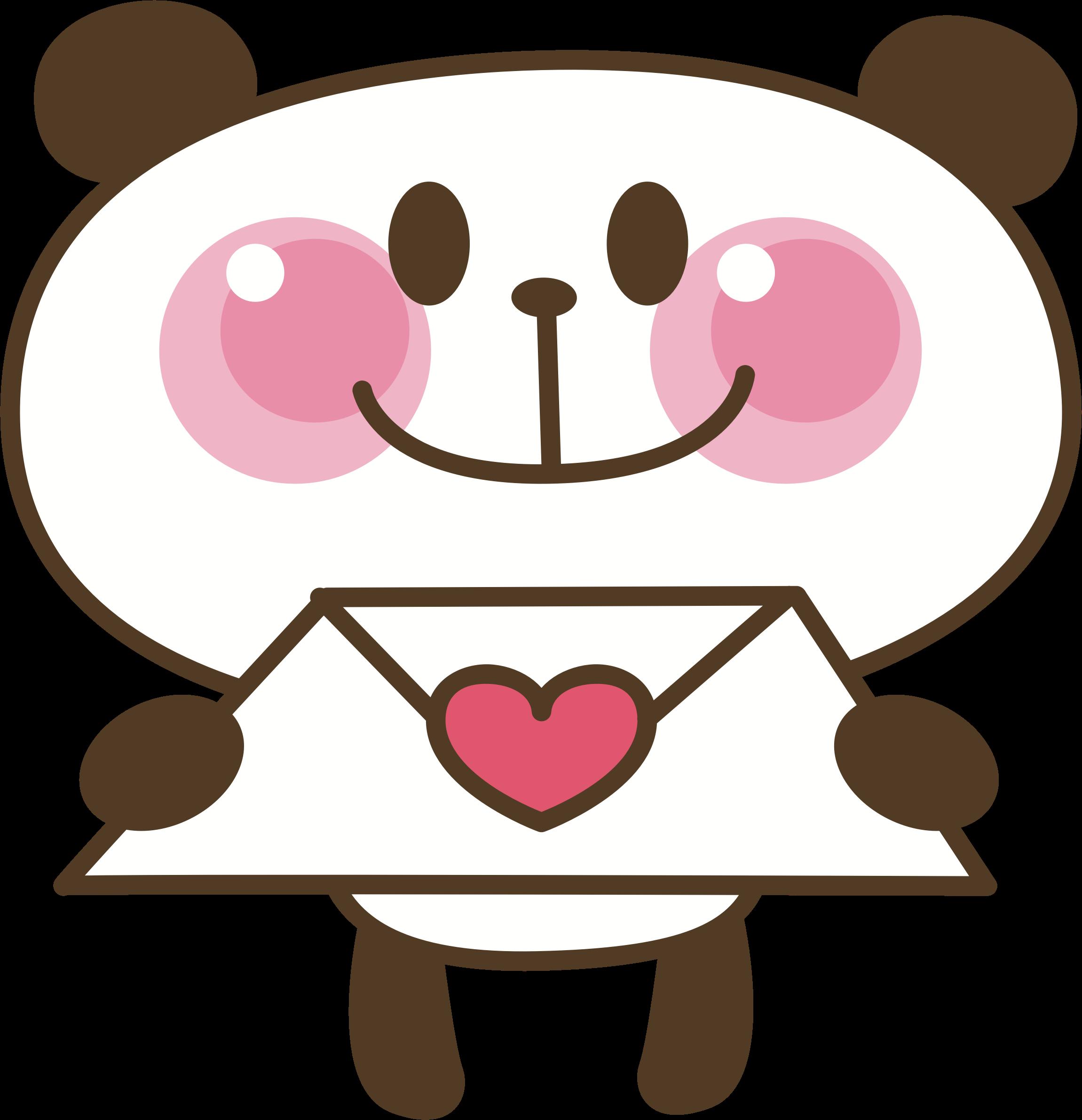 Letter big image png. Clipart panda panda love
