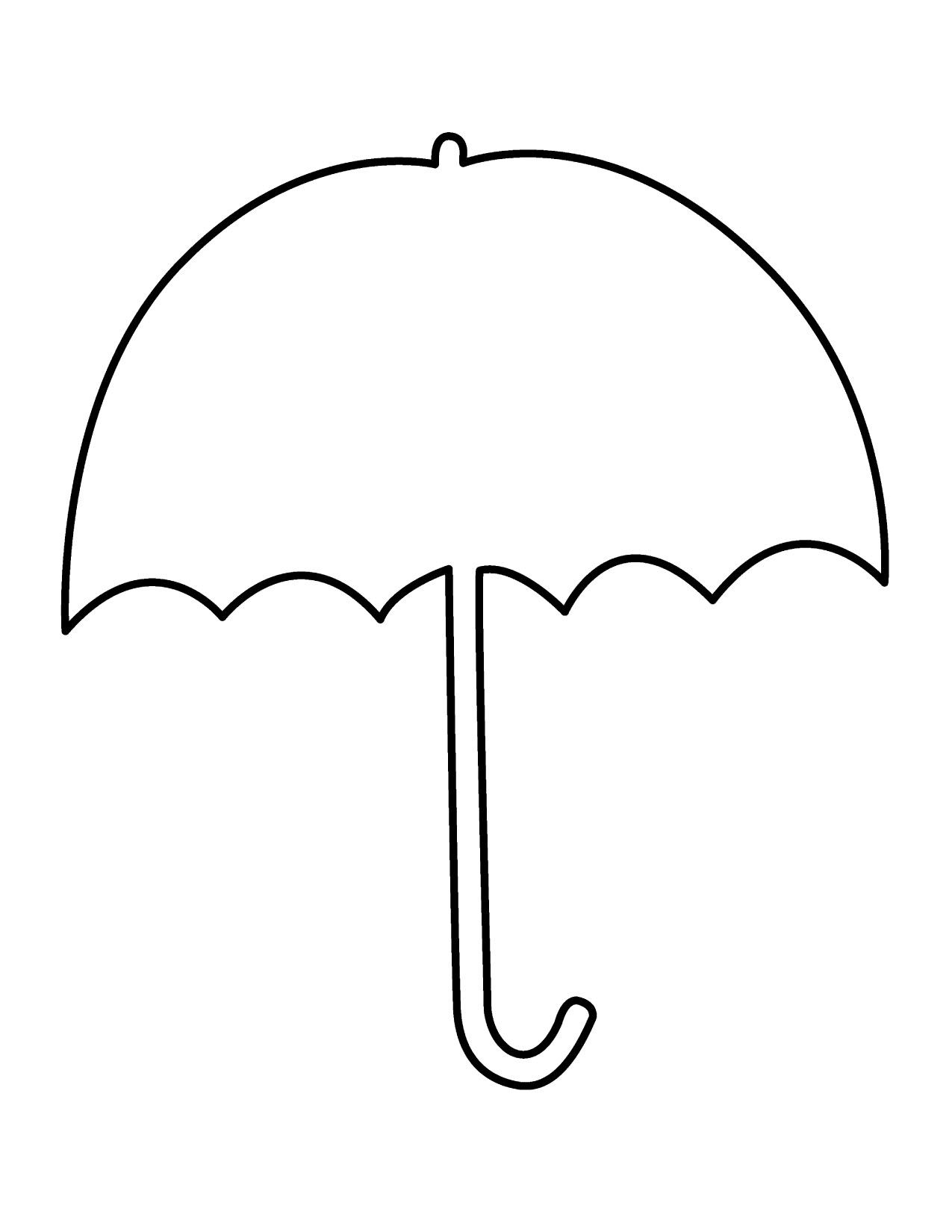 Coloring pages clip art. Clipart umbrella pdf