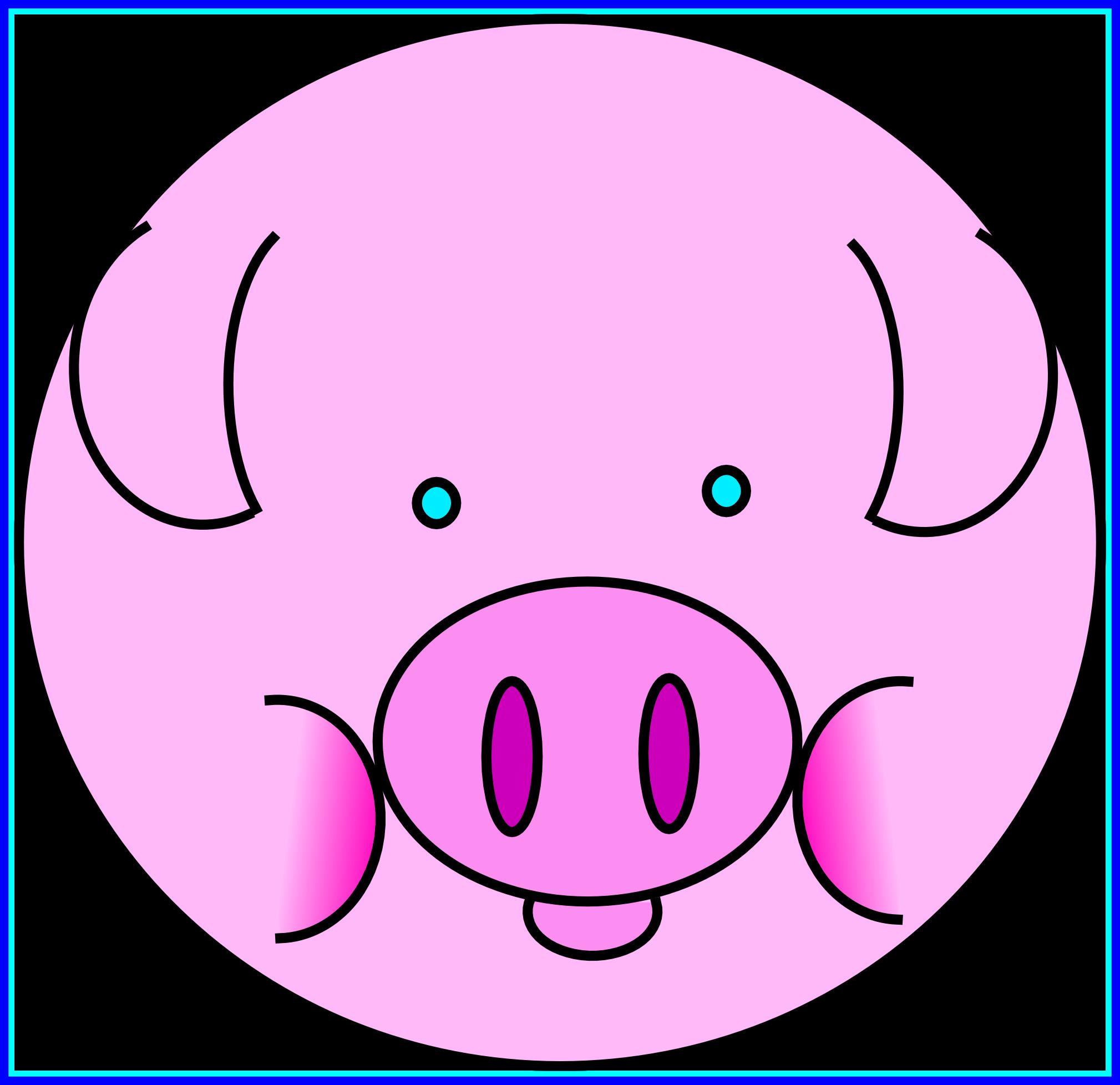 Pig clipart baby pig. Cute at getdrawings com
