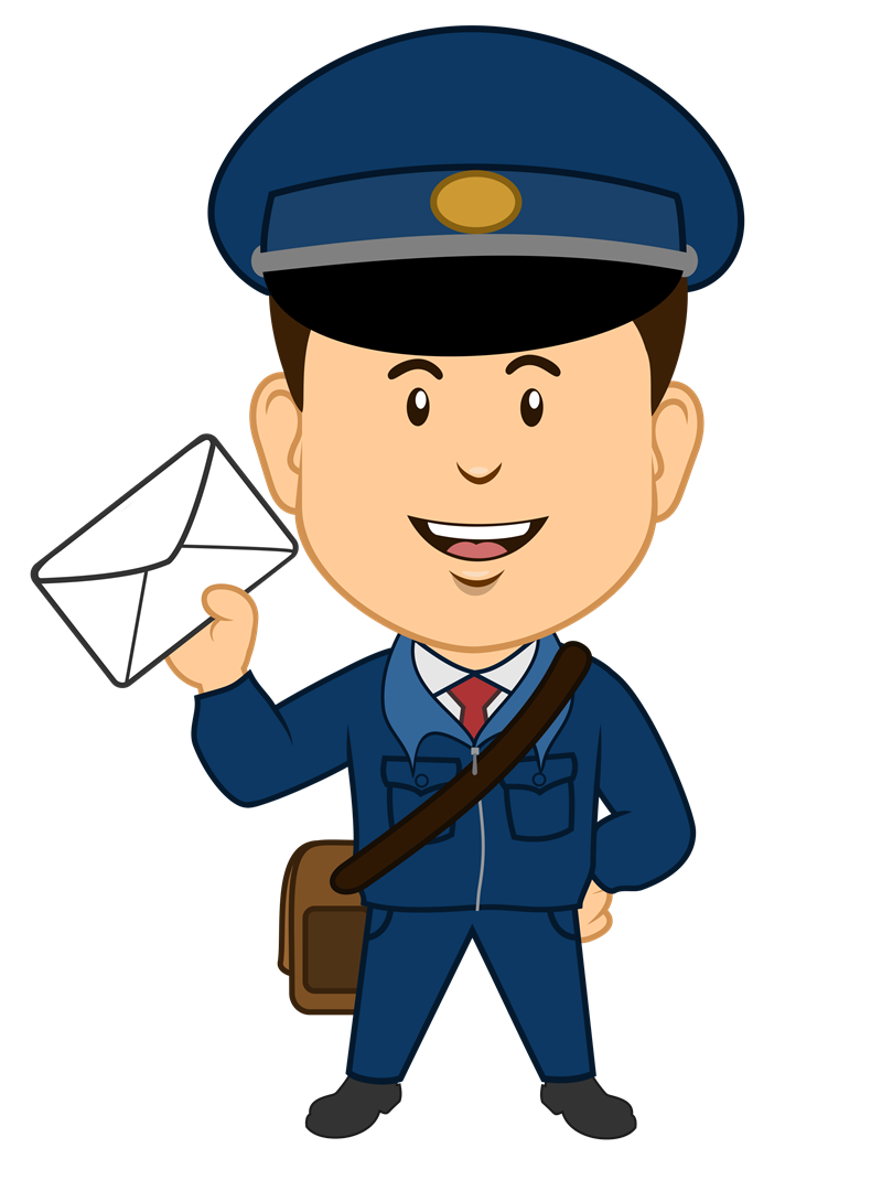Clipart panda police chief. Postman free images postmanclipart
