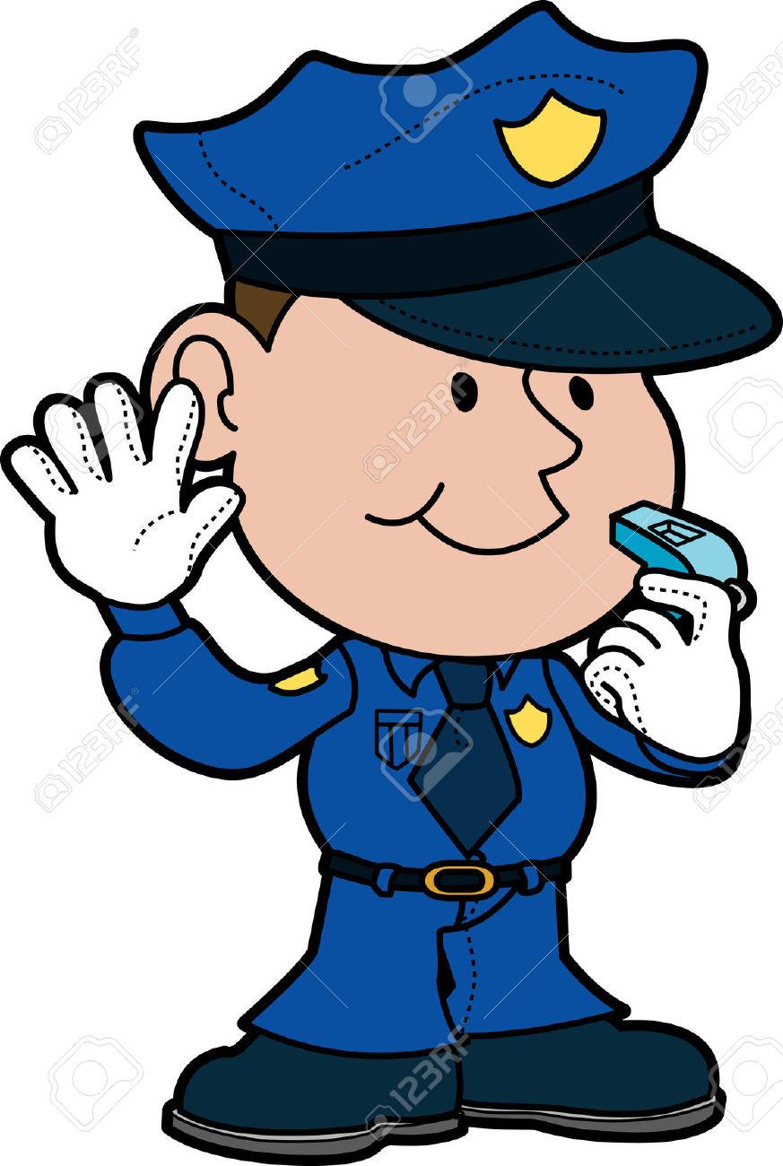 Cop clipart law enforcement. Man whistling cliparts free