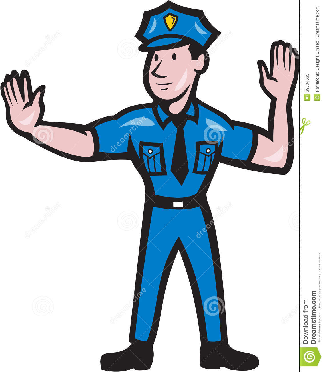 Policeman funny free images. Clipart panda police stop