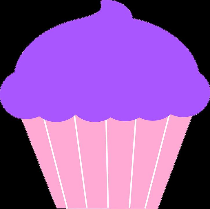 Clipart panda purple. Icing simple cupcake pencil