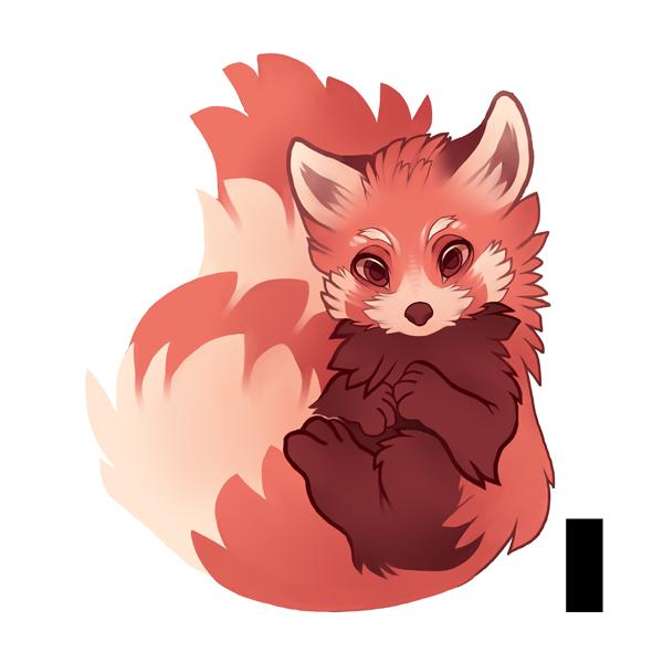 By xygowenxy on deviantart. Clipart panda red panda