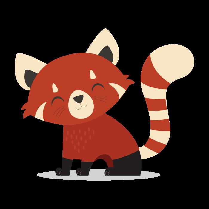 Png transparent images pluspng. Clipart panda red panda