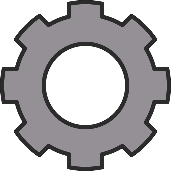 Gear clipart metallic. Mechanical engineer panda free