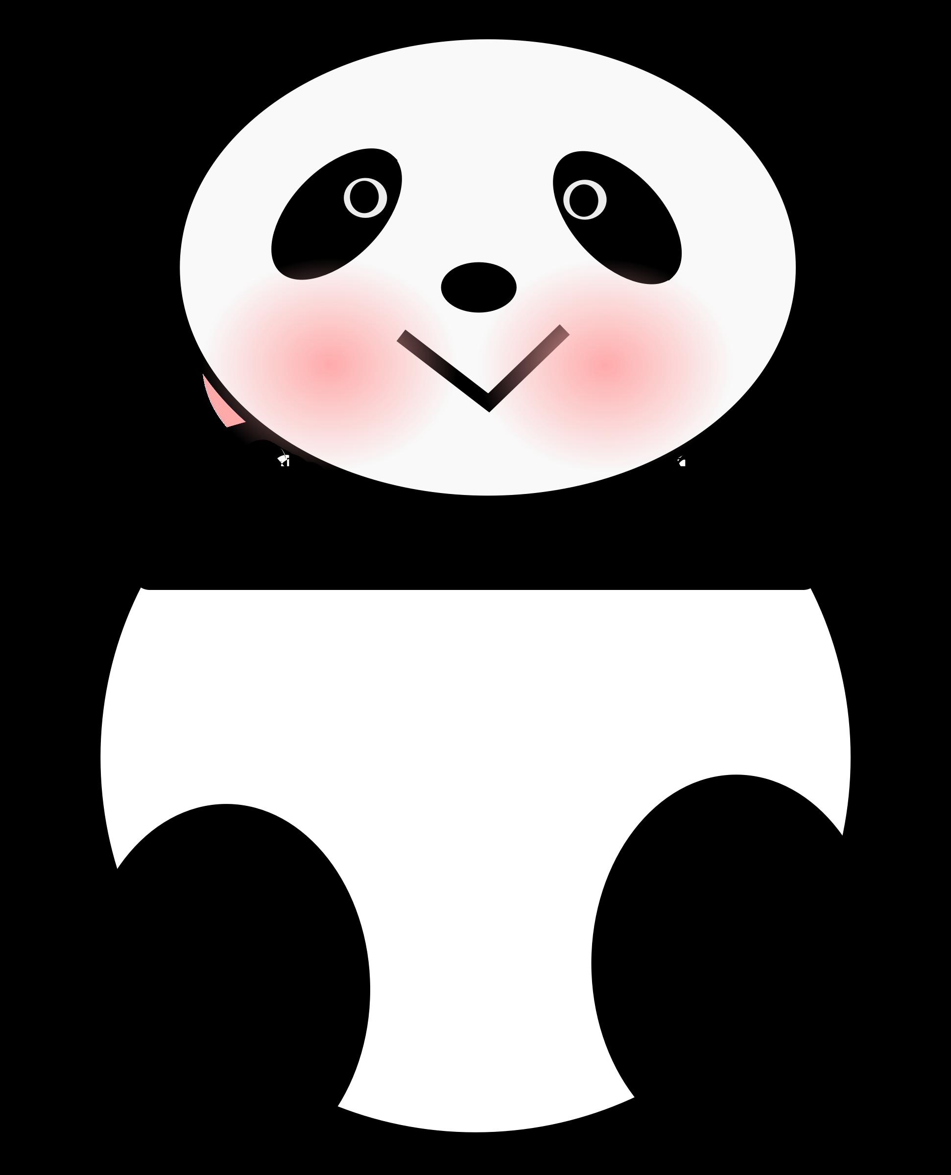Clipart panda small. Big image png